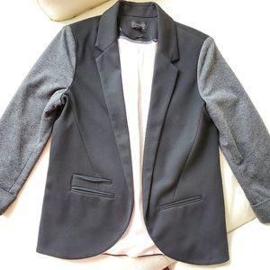 Top Shop casual black & gray suit jacket